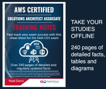 Training Notes AWS Solutions Architect