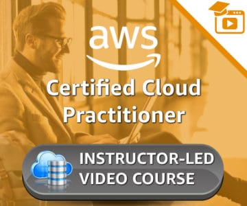 AWS Training Instructor led video course